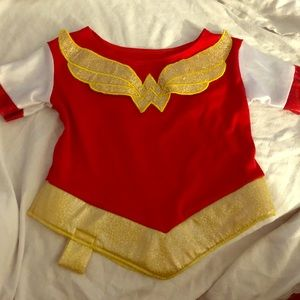 Wonder Woman Halloween top